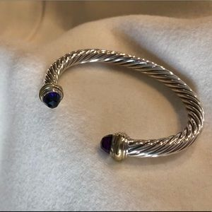 David Yurman Amethyst Bracelet